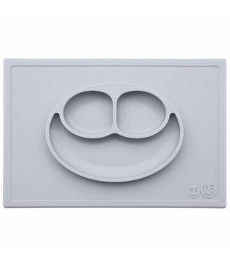 EZPZ Placemat Happy Mat - Pewter Grijs | EZPZ