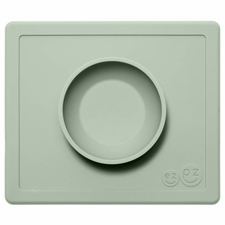 EZPZ Placemat Happy Bowl - Sage Groen | EZPZ