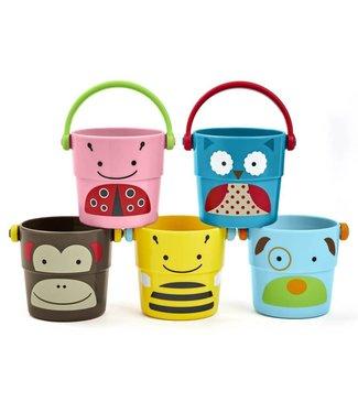 Skip Hop Badspeelgoed Stack & Pour Buckets | SKIP*HOP