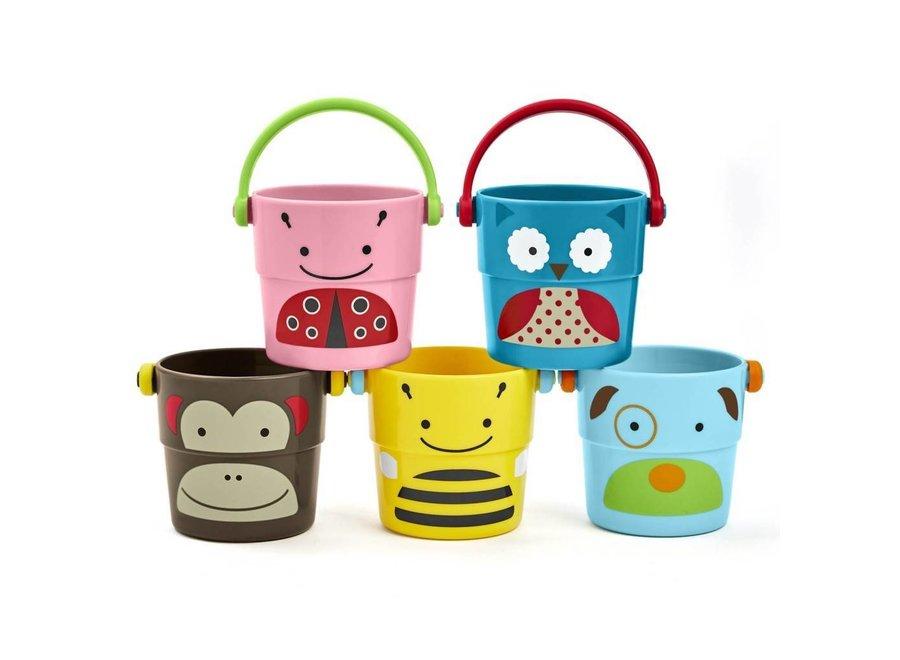 Badspeelgoed Stack & Pour Buckets   SKIP*HOP