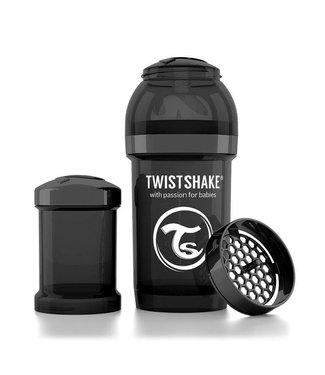 Twistshake Drinkflesje Antikoliek 180 ml - Zwart   Twistshake