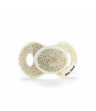 Elodie Details Fopspeen Gold Shimmer +3m | Elodie Details