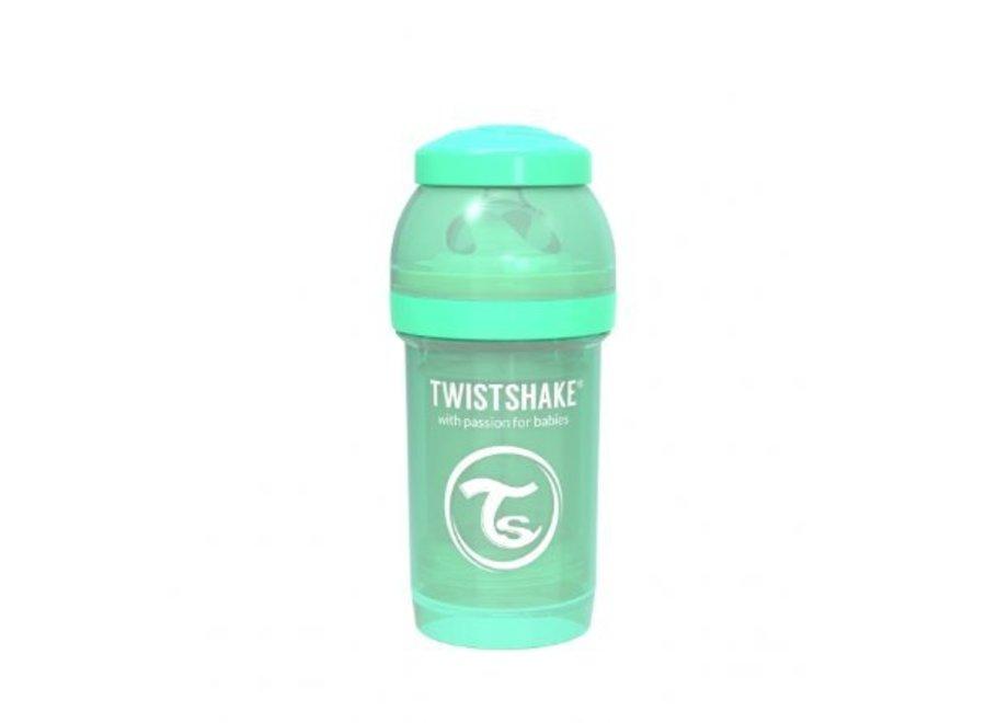 Drinkflesje Antikoliek 180 ml - Muntgroen | Twistshake