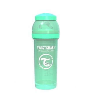 Twistshake Drinkflesje Antikoliek 260  ml - Muntgroen | Twistshake