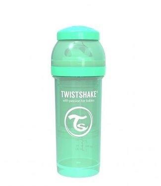 Twistshake Drinkflesje Antikoliek 260  ml - Muntgroen   Twistshake