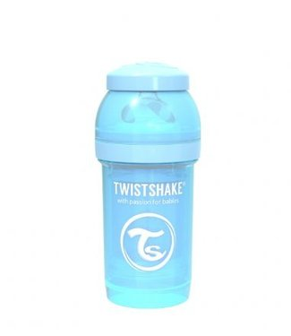 Twistshake Drinkflesje Antikoliek 180 ml - Pastelblauw | Twistshake