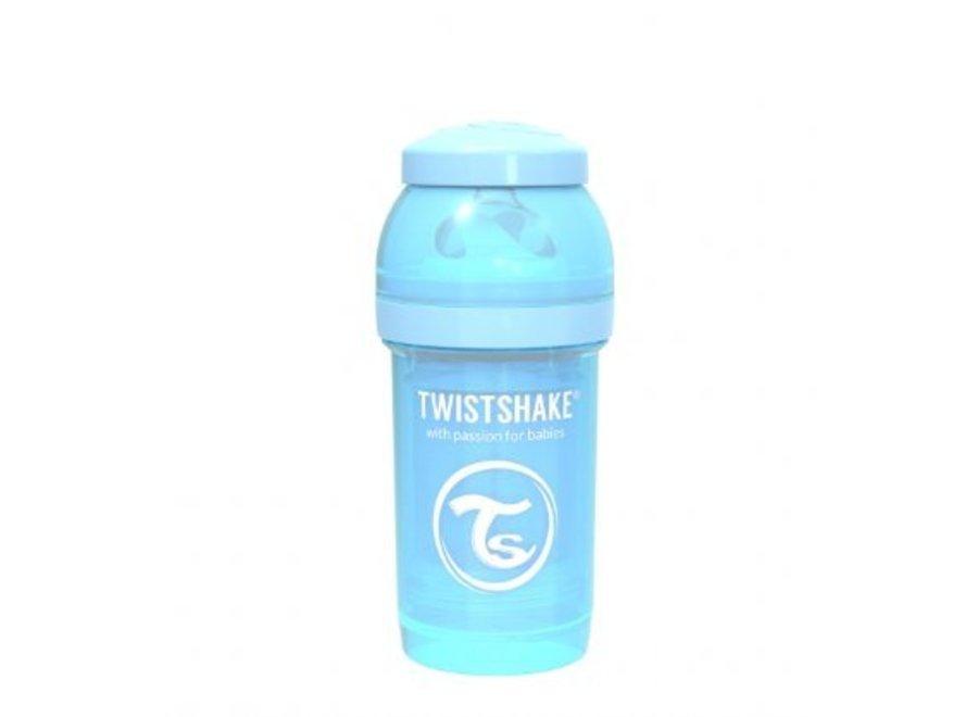 Drinkflesje Antikoliek 180 ml - Pastelblauw | Twistshake