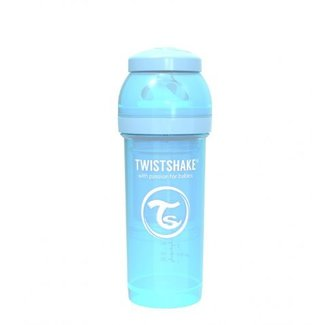 Twistshake Drinkflesje Antikoliek 260  ml - Pastelblauw | Twistshake