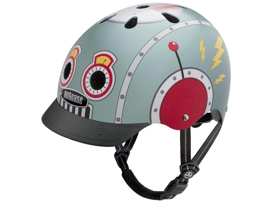 "Street Nutty - Skate & fietshelm ""Tin Robot"" | Nutcase"