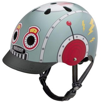 "Nutcase Street Nutty - Skate & fietshelm ""Tin Robot"" | Nutcase"