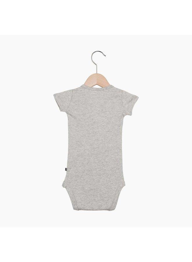 Button Bodysuit - Stone | House of Jamie