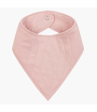 "House of Jamie Bandana Slab ""Geometry Jacquard""  Powder Pink  