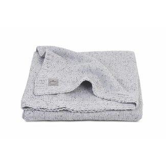 Jollein Dekentje Confetti Knit Grey (75 x 100 cm) | Jollein