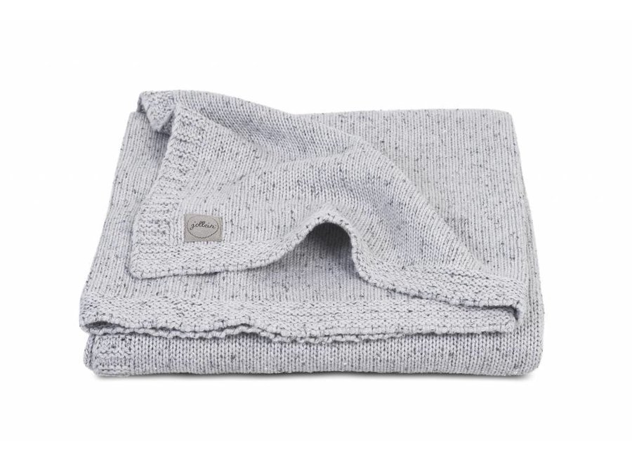 Dekentje Confetti Knit Grey (75 x 100 cm)   Jollein