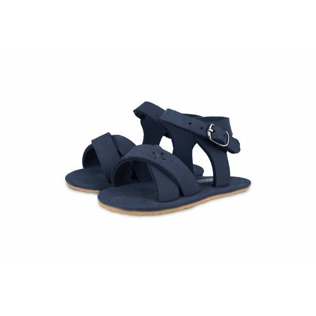 "Sandaaltjes Giggles ""Navy Nubuck""   Donsje"