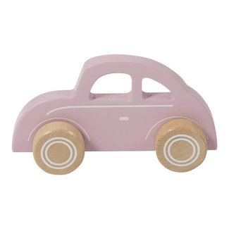 "Little Dutch Houten Auto Beetle  ""Pink"" 