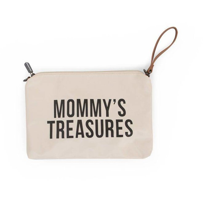 "Mommy Clutch - ""Off-white/Black"" 