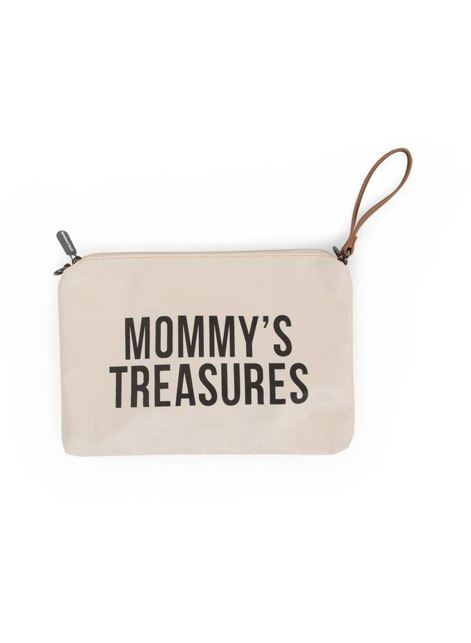"""Mommy Clutch - """"Off-white/Black"""" 