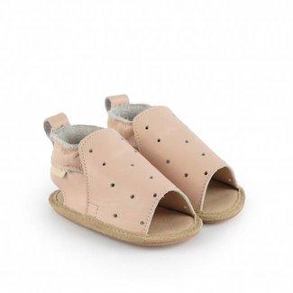 "Boumy Babyschoentjes Sam  ""Pastel Pink Leather"" | Boumy"