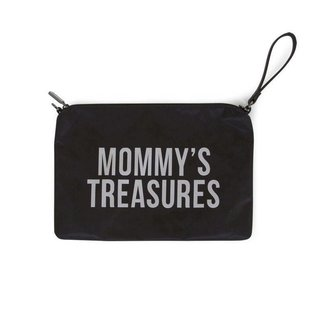 "Childhome Mommy Clutch - ""Zwart/Zilver"" 