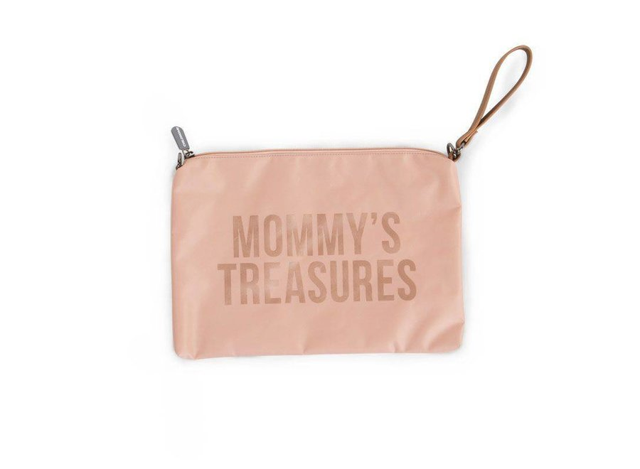"""Mommy Clutch - """"Pink/Copper"""" 