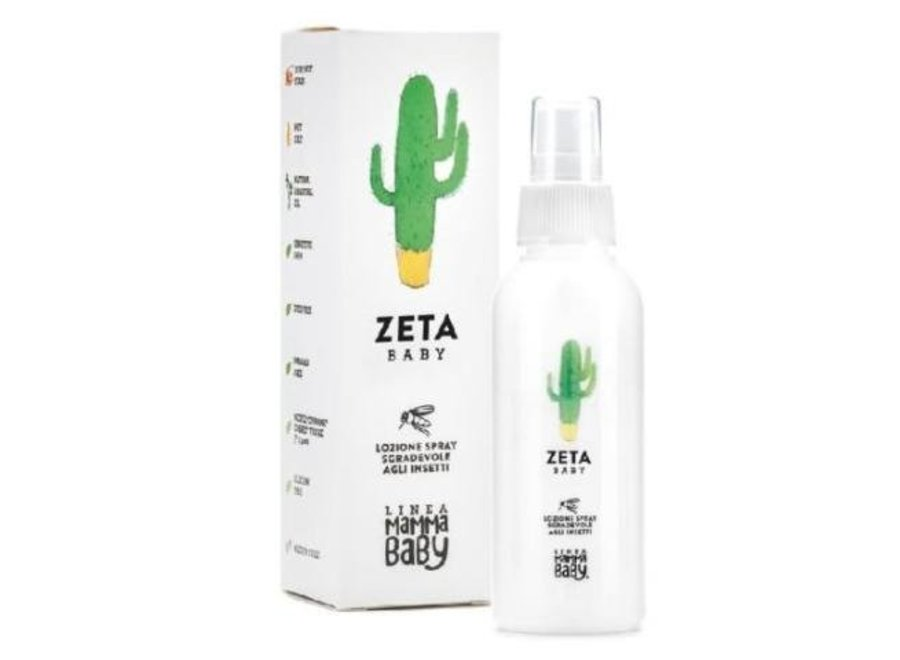 Muggenspray Zeta Baby   Linea Mamma