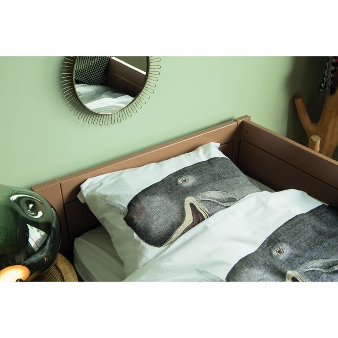 Eenpersoons Dekbedovertrek Walvis | Snurk