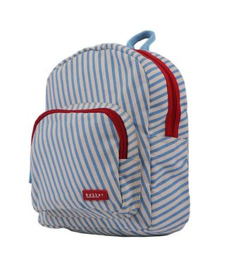 Bakker made with Love Rugtas mini Stripes Sky | Bakker made with love