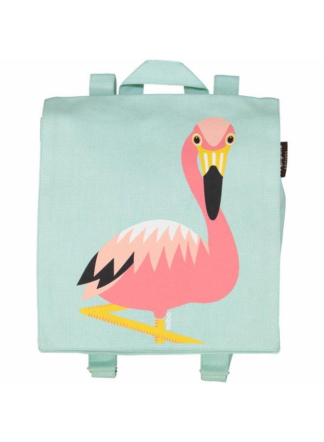 Rugzak/zwemtasje flamingo   Coq En Pâte