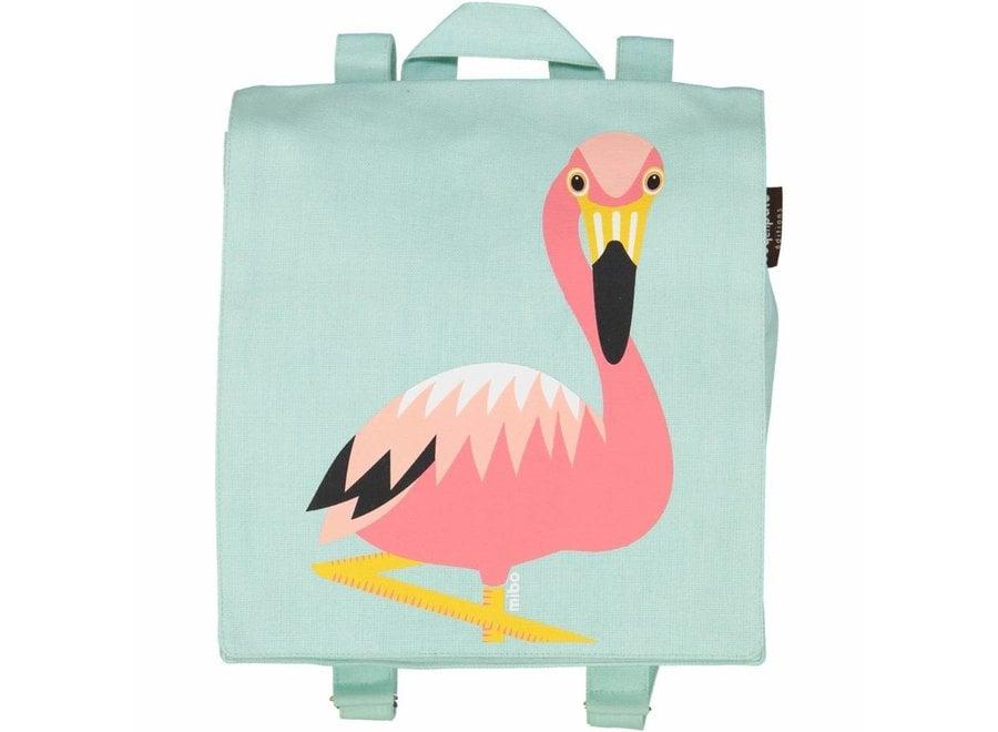Rugzak/zwemtasje flamingo | Coq En Pâte