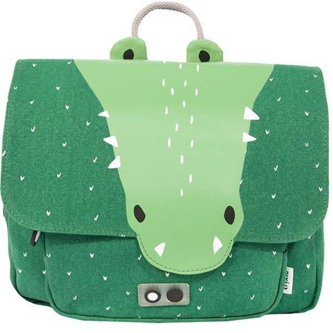 Kleuterboekentasje Mr. Crocodile   Trixie Baby