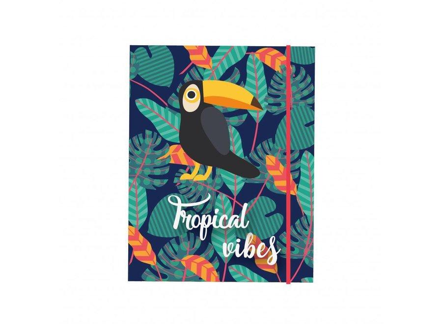 Elastomap Tropical Vibes A4