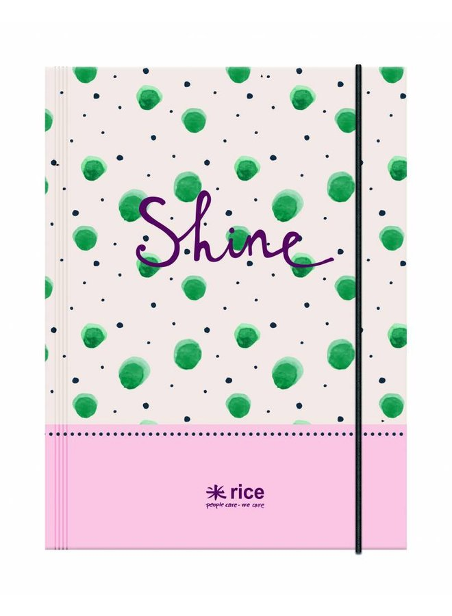 A4 Elastomap Shine | Rice