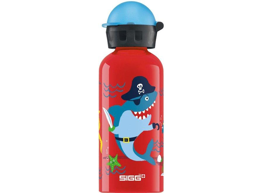 Drinkfles Onderwater rood  0,4L   Sigg