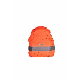 Go Fluo Nell Red orange Rugzak cover | Go Fluo