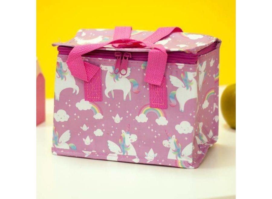 Lunch Bag Rainbow Unicorn | Sass & Belle