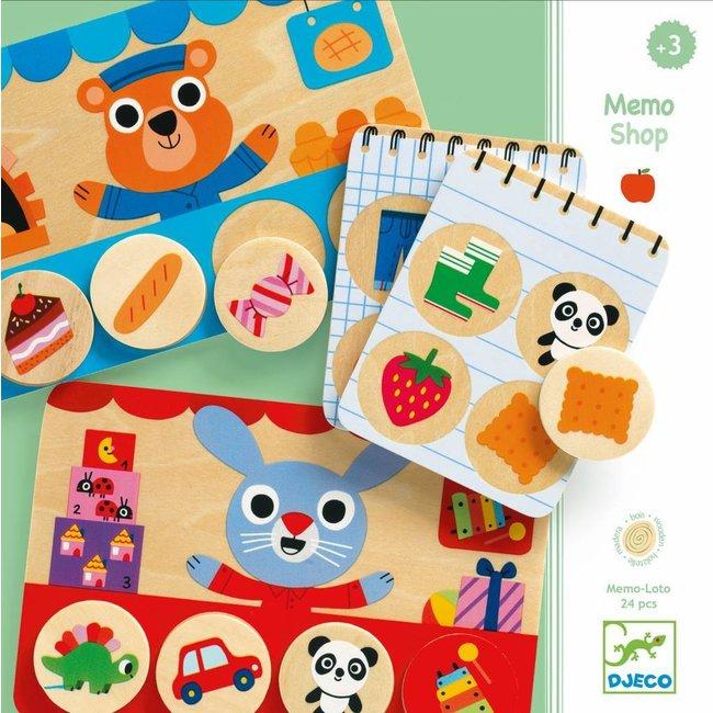 Djeco Djeco | Memo Shop - Geheugenspel - 24 pcs