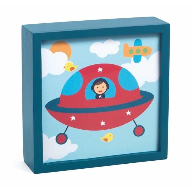 Djeco Djeco   Magisch Nachtlampje - Polo Space