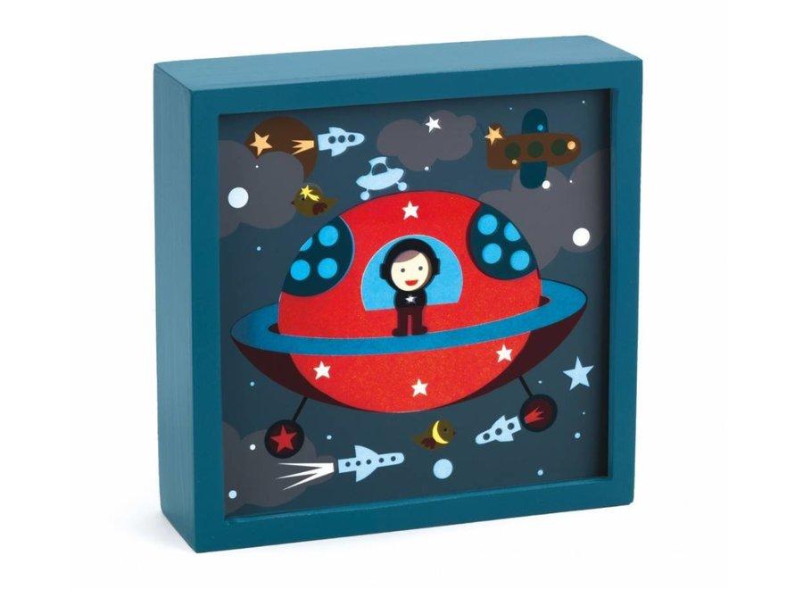 Djeco | Magisch Nachtlampje - Polo Space