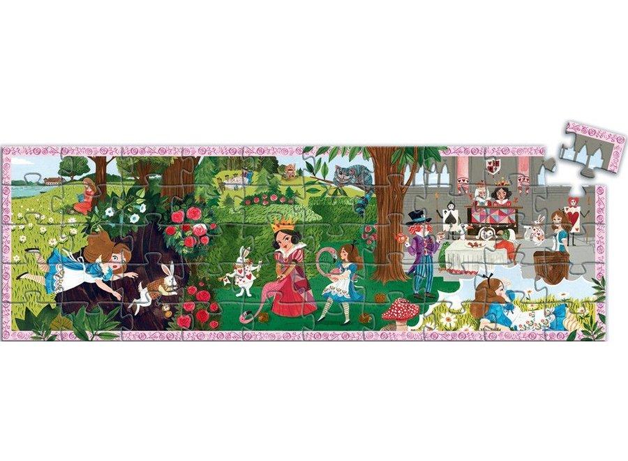 Puzzel Alice in Wonderland 50 pcs   Djeco