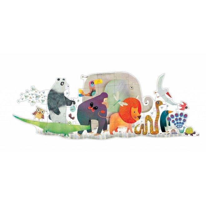 Puzzel Animal Parade 36pcs | Djeco