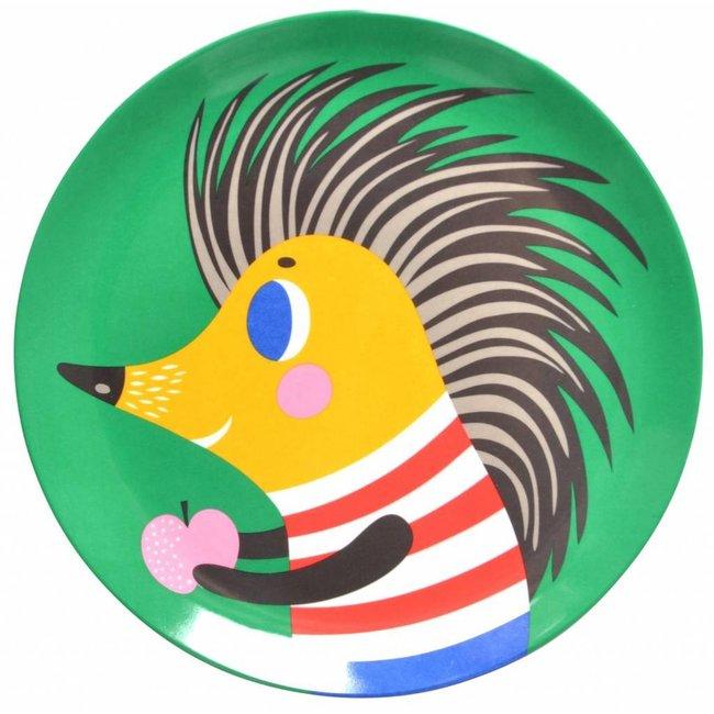 Bord Hedgehog groen    Petit Monkey