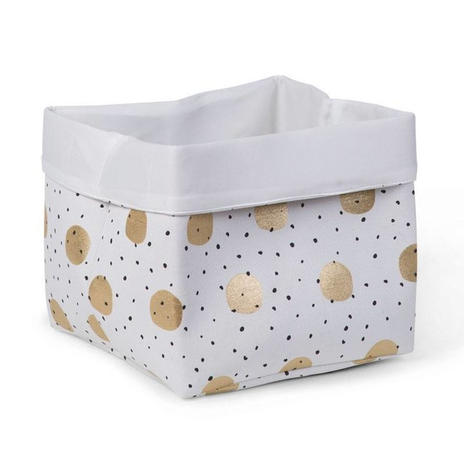 Canvas Mand Gold Dots | Childhome