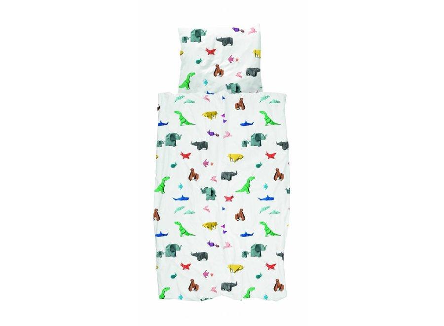 Dekbedovertrek Paper Zoo | Snurk