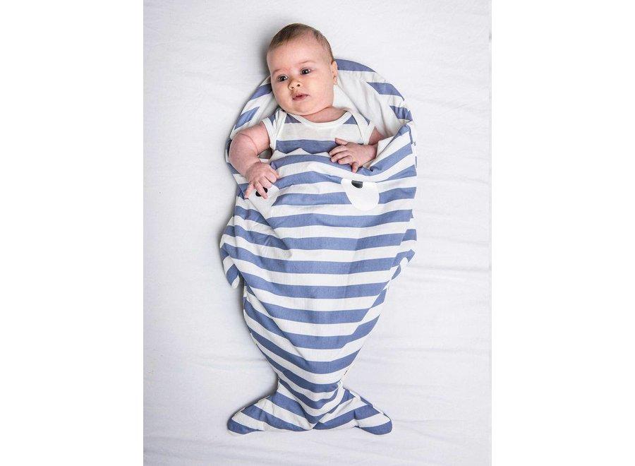 Baby Slaapzak Shark - Sailor Blue winter | Baby Bites