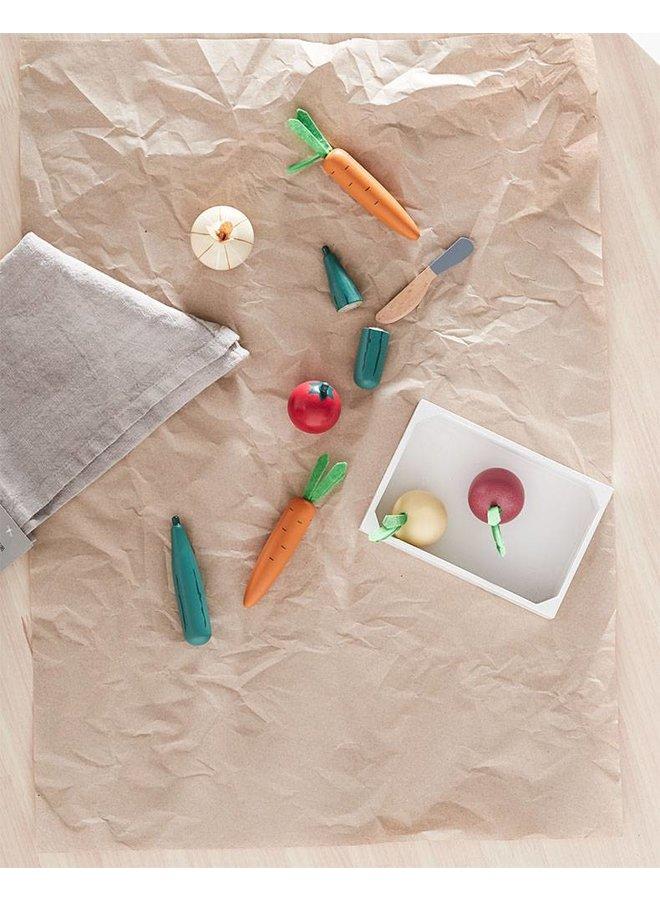 Houten Groentenkistje Mix | Kid's Concept