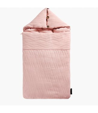 "House of Jamie Reisslaapzak ""Geometry Jacquard"" Powder Pink 