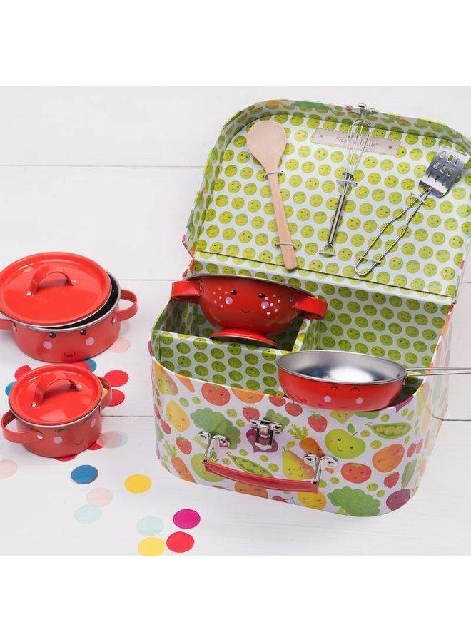Keukenset koffer Fuit & Groenten | Sass & Belle