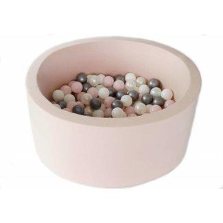 MiiiMi Ballenbad Pink XL + 200 ballen | MiiiMi
