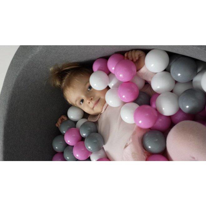 Ballenbad Lichtgrijs + 200 ballen | MiiiMi